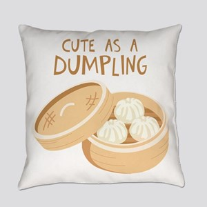 CUTE AS A DUMPLING Everyday Pillow