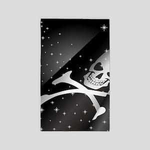 Sparkling Pirate Flag Area Rug