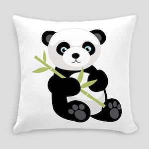 Panda Bear Everyday Pillow