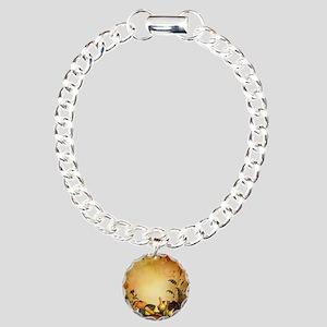 Thanksgiving Charm Bracelet, One Charm