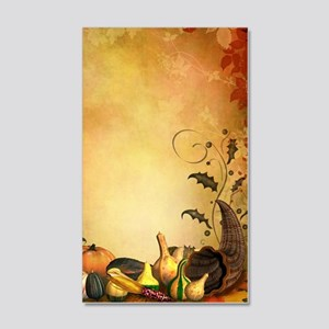 Thanksgiving 20x12 Wall Decal
