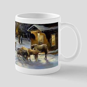 Russian Winter Painting Mug