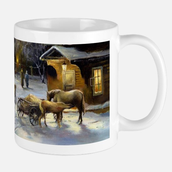 Russian Winter Painting Mug