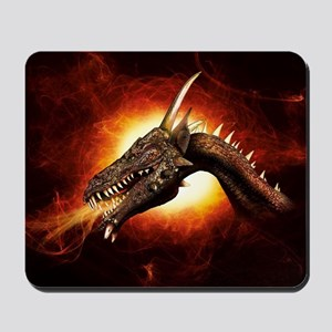 Plasma Dragon Mousepad