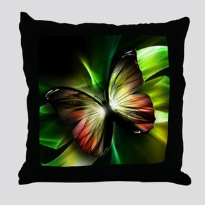 Geometric Butterfly Throw Pillow