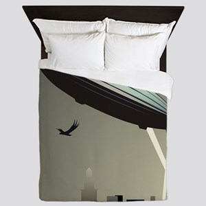 Zeppelin Skyline Queen Duvet