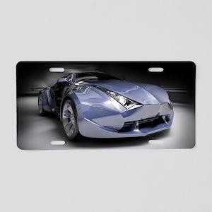 Cool Dream Car Aluminum License Plate