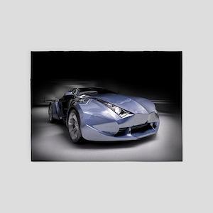 Cool Dream Car 5'x7'Area Rug