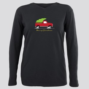 c14e24294d5 Christmas Red Truck Women s Plus Size T-Shirts - CafePress