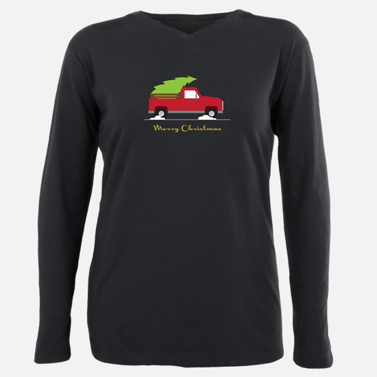 25. Red Pick up Truck Christmas Tree Plus Size Lon