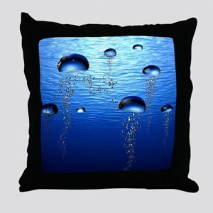 Beautiful Bubbles Throw Pillow