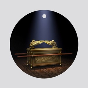 Ark of the Covenant Round Ornament