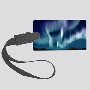 Northern Lights Large Luggage Tag