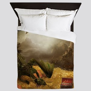 Dragon Treasure Queen Duvet