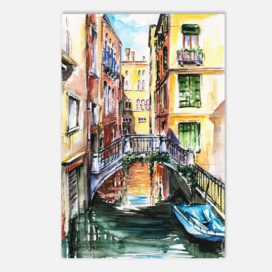 Summer in Venice Postcards (Package of 8)