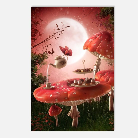 Surreal Tea Party Postcards (Package of 8)