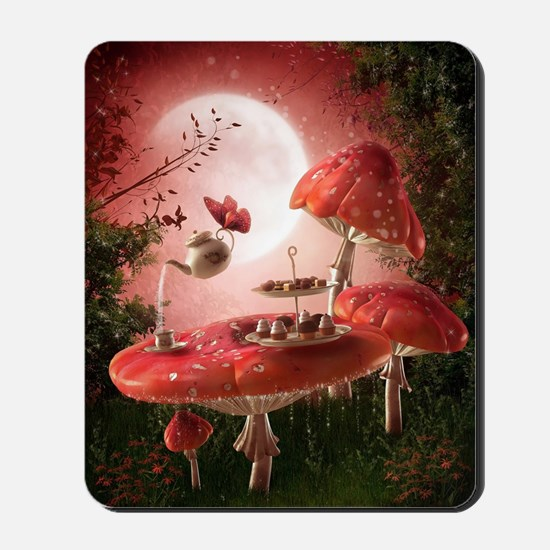 Surreal Tea Party Mousepad