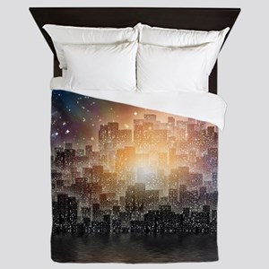 Mega City Queen Duvet