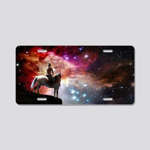 Native American Universe Aluminum License Plate