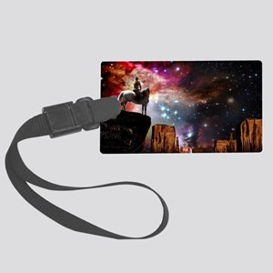 Native American Universe Large Luggage Tag
