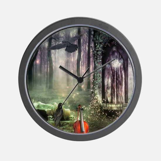 Gothic Dreamland Wall Clock