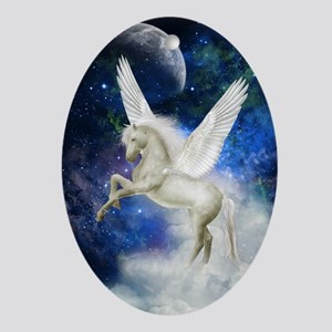 Pegasus Universe Oval Ornament