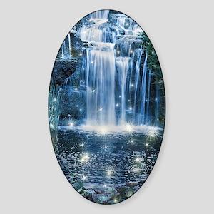 Magic Waterfall Sticker (Oval)