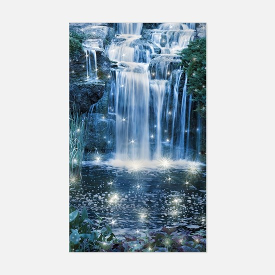 Magic Waterfall Sticker (Rectangle)