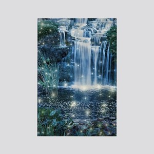 Magic Waterfall Rectangle Magnet