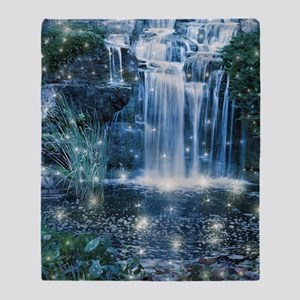 Magic Waterfall Throw Blanket