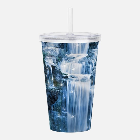 Magic Waterfall Acrylic Double-wall Tumbler