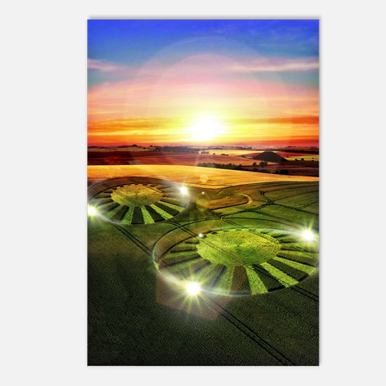 Crop Circles Postcards (Package of 8)