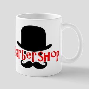 Barbershop Bowler Mugs
