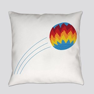 Hippie Hacky Sack Game Everyday Pillow