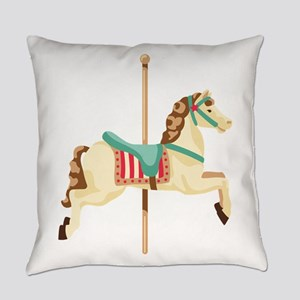 Carousel Horse Everyday Pillow