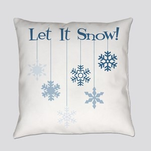 Let It Snow! Everyday Pillow