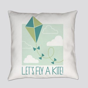Lets Fly A Kite Everyday Pillow