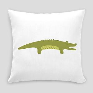 Alligator Animal Everyday Pillow