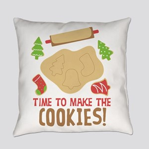 TIME TO MAKE THE COOKIES! Everyday Pillow