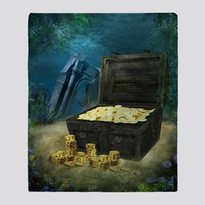 Treasure Chest Throw Blanket