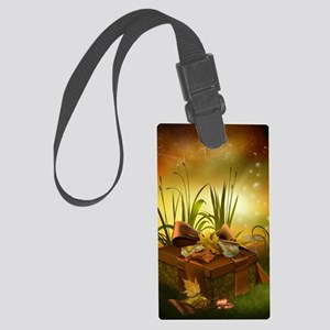 Thanksgiving Present . Large Luggage Tag