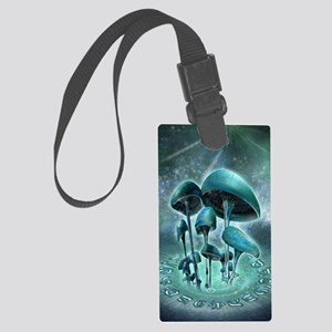 Mystic Mushrooms Large Luggage Tag