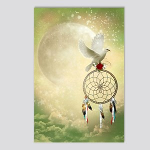 Dove Dreamcatcher Postcards (Package of 8)