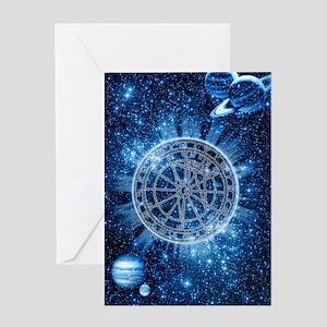 Mystical Zodiac Greeting Card