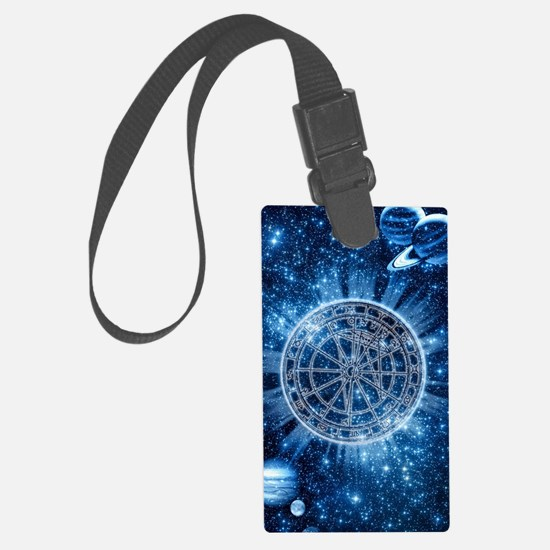 Mystical Zodiac Luggage Tag