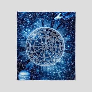 Mystical Zodiac Throw Blanket