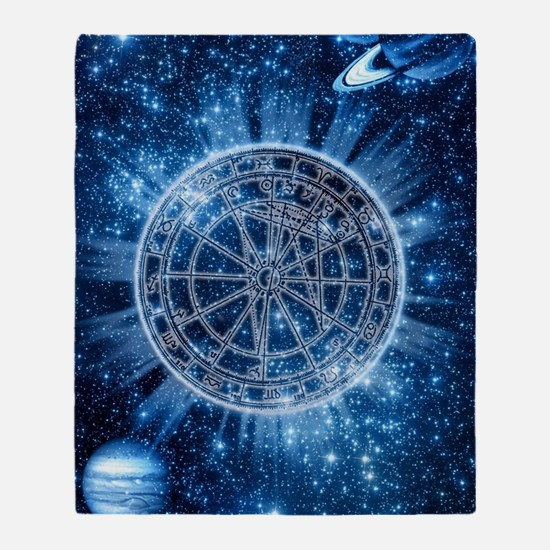 Mystical Zodiac Throw Blanket