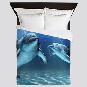 Dolphin Dream Queen Duvet