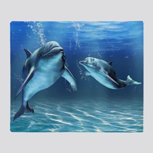 Dolphin Dream Throw Blanket