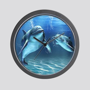 Dolphin Dream Wall Clock